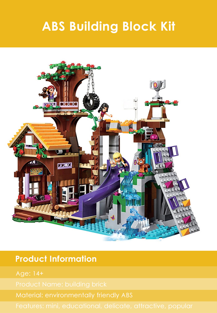 Cartoon Figure Building Block ABS Educational Kid Toy - 739pcs