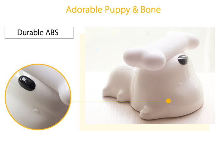 BRELONG Cartoon Dog Rechargeable LED Night Light Bedside Table Lamp