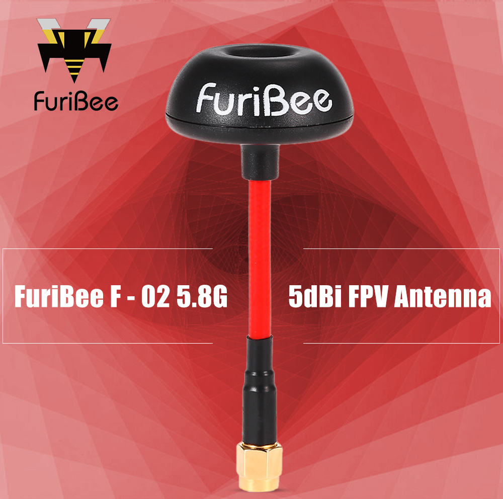 FuriBee F - 02 10pcs 5.8G 5dBi FPV Mushroom Antenna for RC Racing Multicopters