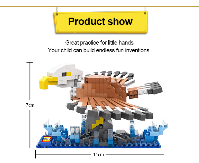 LOZ Eagle Style Building Block ABS Educational Movie Product Kid Toy - 340pcs