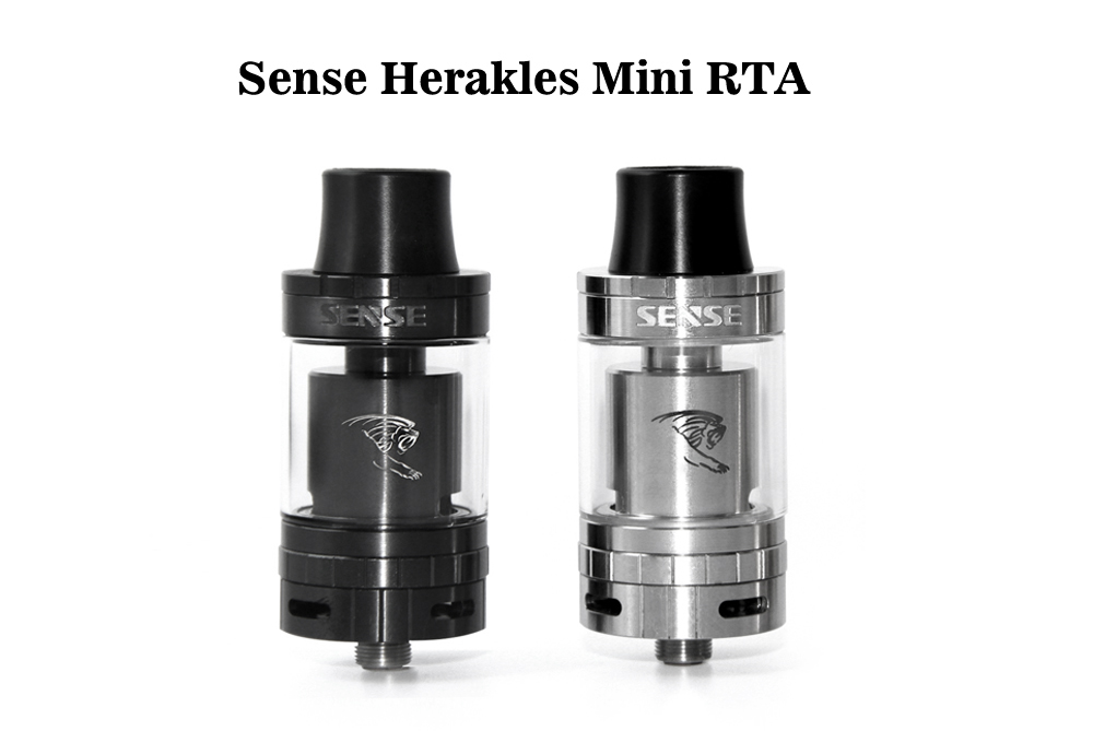 Original Sense Herakles Mini RTA with 3ml Capacity / Top Filling System / Dual Posts for E Cigarette