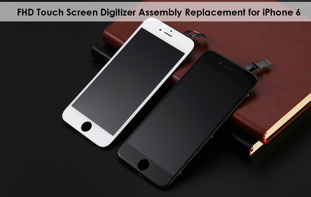 LeeHUR FHD Display + Touch Screen Digitizer Assembly Replacement with Tool Kit for iPhone 6