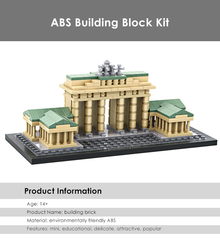 LOZ ABS Architecture Building Block Educational Movie Product Kid Toy - 362pcs