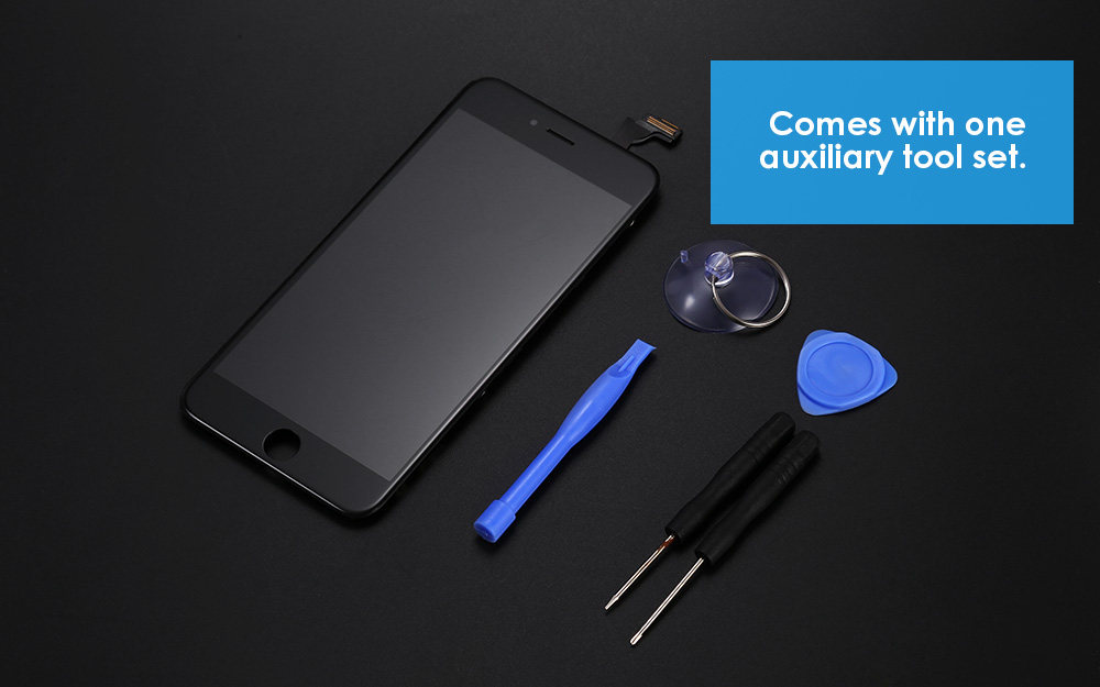 LeeHUR FHD Display + Touch Screen Digitizer Assembly Replacement with Tool Kit for iPhone 6 Plus