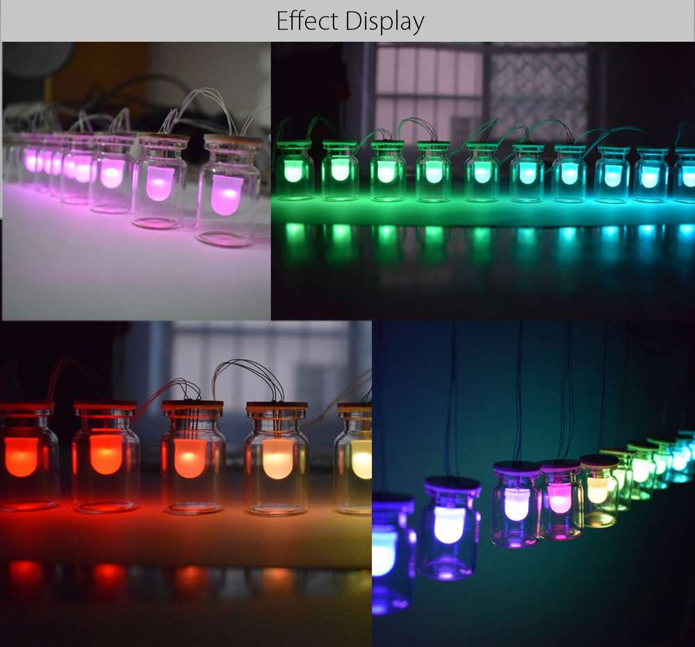 RGB LED Colorful Light Decorative Hanging Lamp Kit for DIY Project