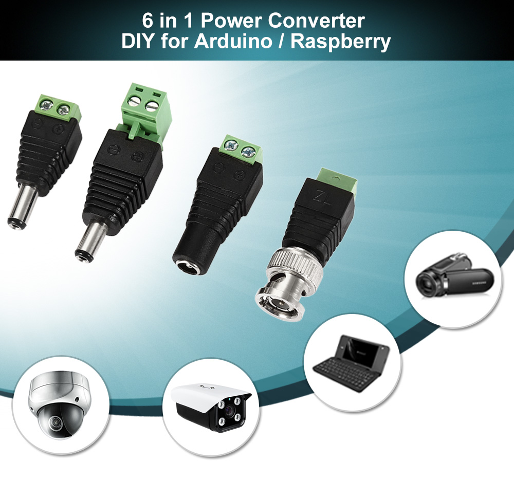 6 in 1 Power Converter DIY for Arduino / Raspberry