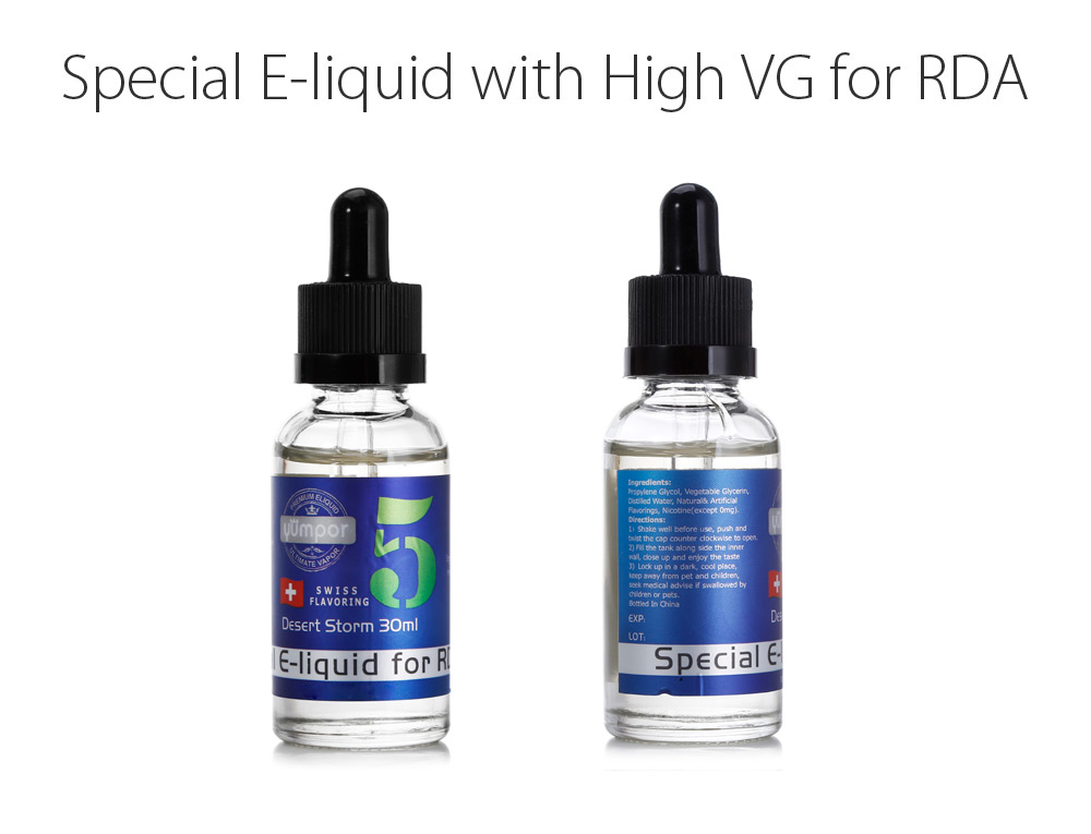 Special E-Juice with High VG / Blend Flavor for E Cigarette