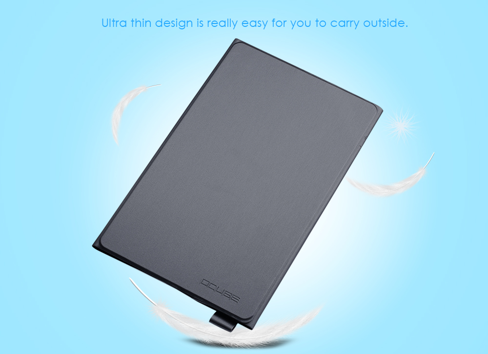 OCUBE PU Leather Protective Case for Cube Talk 11 Full Body Folding Stand Design