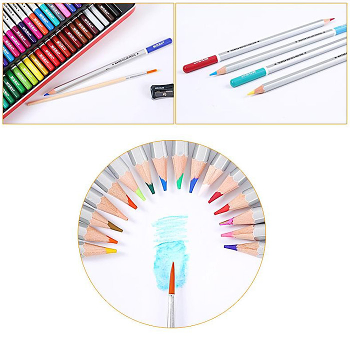 MG ChenGuang 12 Color Assorted Water Soluble Pencil
