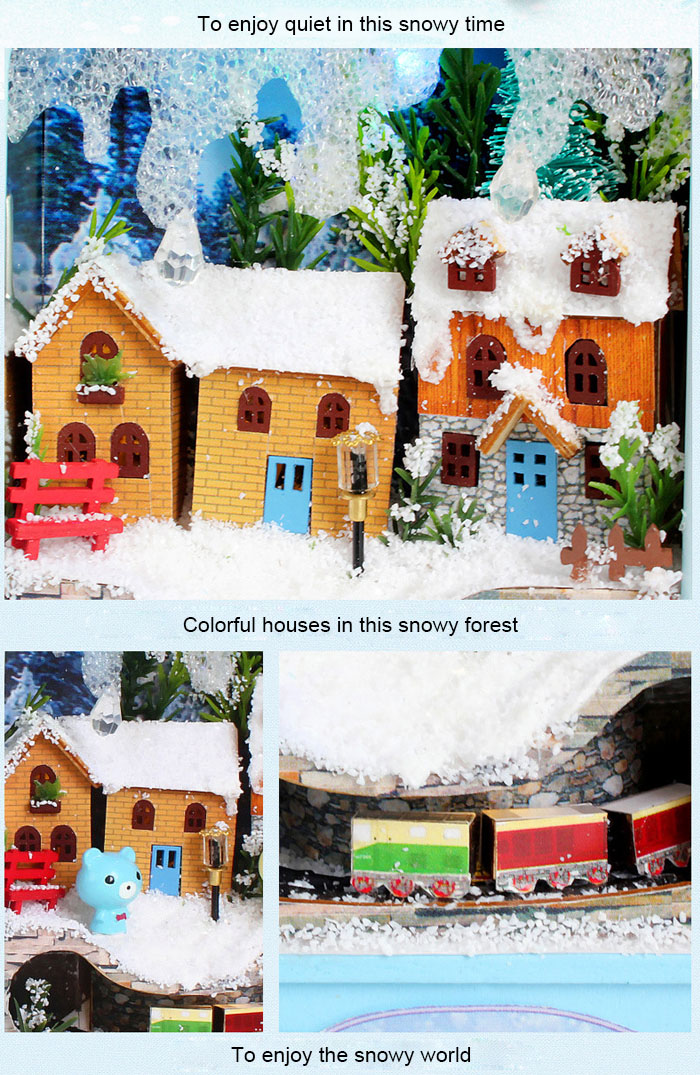 Room Design Miniature Box Idea DIY Handicraft Christmas Gift