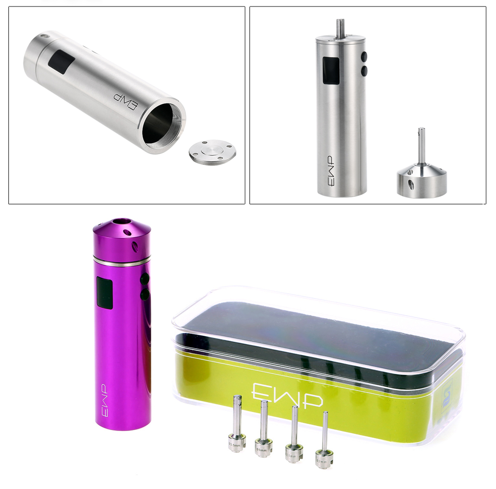 SE Tool Kit with 3.5mm / 3mm / 2mm / 2.5mm Supporting 1pc 18350 Battery for E Cigarette