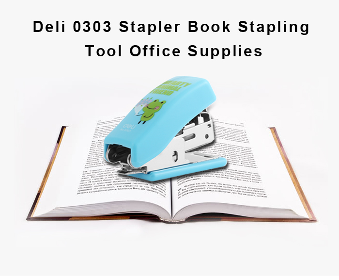 Deli 0303 Stapler Book Sewer Stationery Supplies