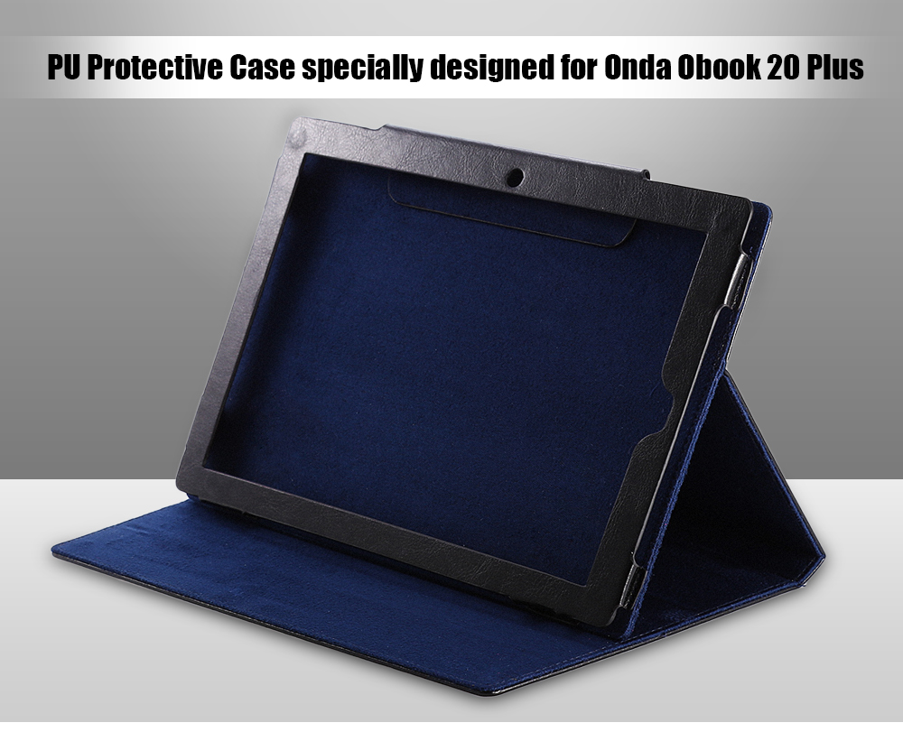 PU Leather Protective Case Dirt-resistance Stand Design for Onda Obook 20 Plus / Obook 10 SE