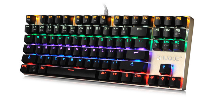 Team Wolf ZHUQUE X05 CIY Professional USB Wired Mechanical Keyboard with LED Backlit