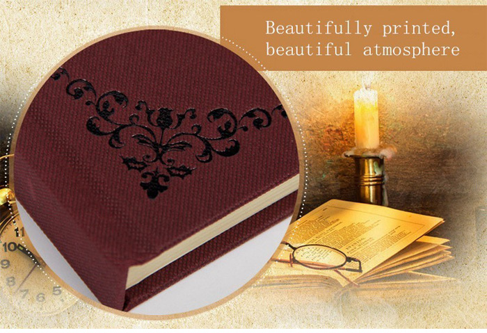 4PCS High-end Retro Notebook Note Book