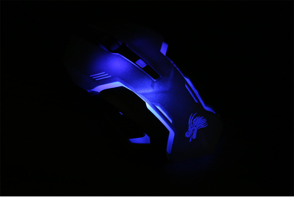 bEITAS X10 USB Gaming Wired Mouse with LED Backlight