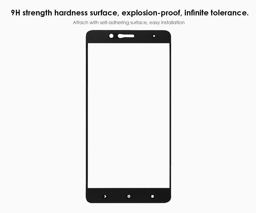 Hat Prince Tempered Glass Screen Protector for Xiaomi 5S Plus 0.26mm 9H 2.5D Full Cover Explosion-proof Ultrathin Protective Film