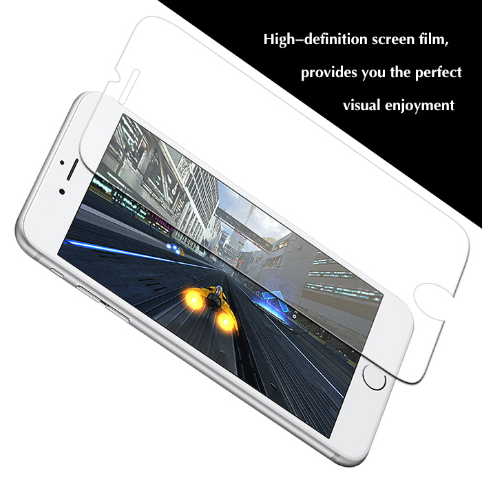 Hat Prince Tempered Glass Screen Protector + Back Protective Film for iPhone 7 Plus 0.26mm 9H 2.5D Explosion-proof Full Cover