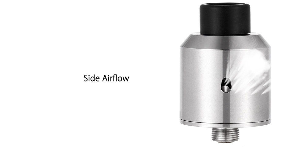 Coppervape OA RDA with BF Pin / Dual Gold-plated Posts / Side Airflow / Clamp System for E Cigarette