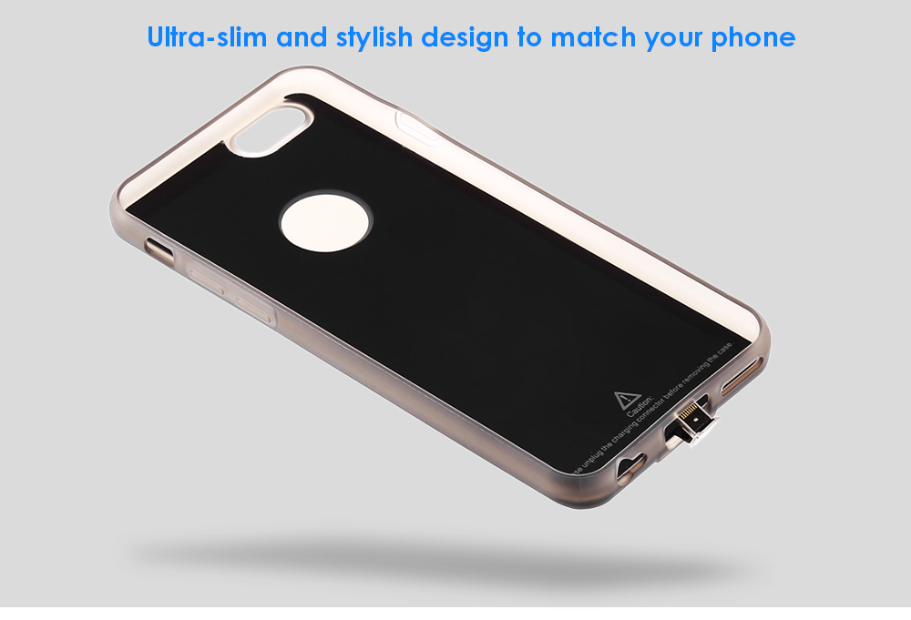 Ultra Slim Wireless Charging Receiver TPU Phone Case Protector Combo for iPhone 6 / 6S