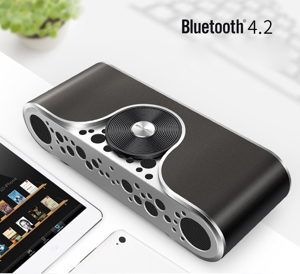 Bluedio TS3 Wireless Bluetooth 4.2 Speaker Audio Player