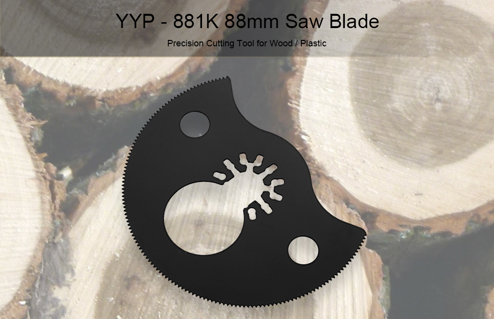 YYP - 881K 88mm Precision Segment Saw Blade Cutting Tool for Wood