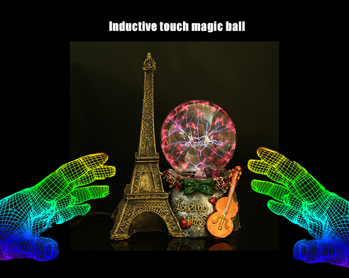 Inductive Touch Magic Ball Novelty Present with Neutralizing Anion Air Purification Function