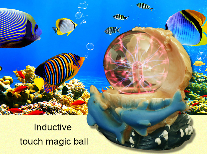 Inductive Touch Magic Ball with Neutralizing Anion Toy for Air Purification Decor