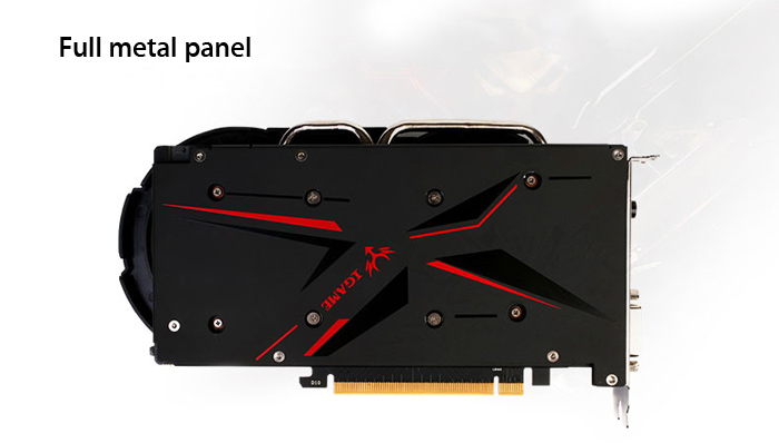 Colorful iGame1050Ti Graphics Card 128bit GDDR5 6Pin Computer Hardware with Cooler Fan
