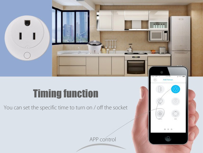 GC00AM NAS - WR01ZE Z-Wave Smart Socket Home Automation System