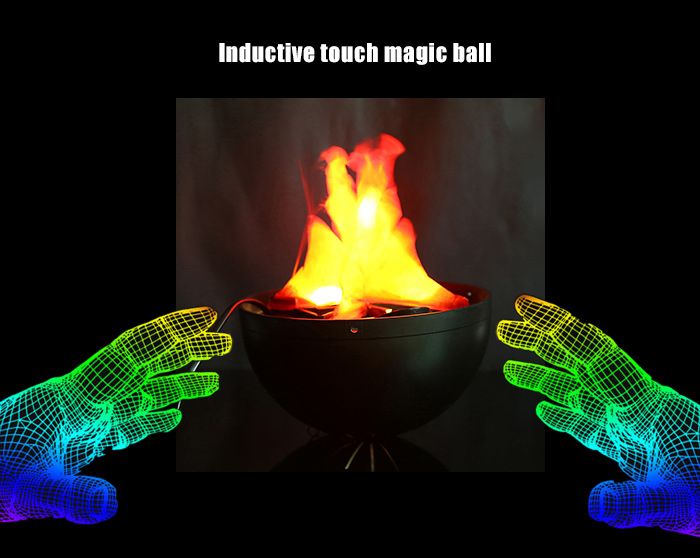 Inductive Touch Magic Ball Novelty Present with Neutralizing Anion for Air Purification Decor