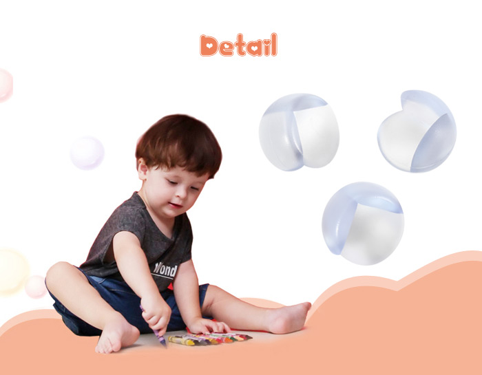 8PCS BabyMatee Baby Infant Safety Anti-collision Table Desk Corner Guard Protector