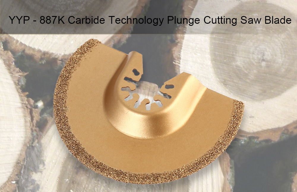 YYP - 887K 88mm Carbide Technology Saw Blade Cutting Tool for Wood