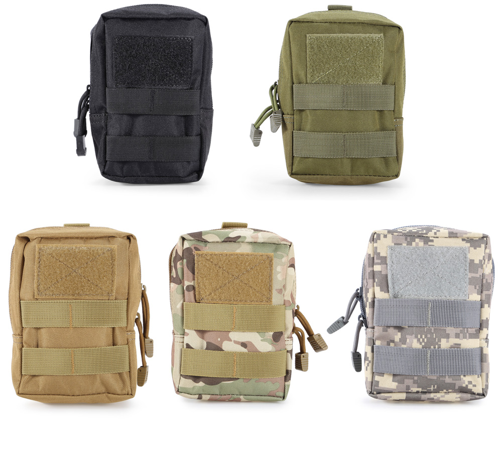 Water-resistant Nylon Waist Bag Mobile Phone Pouch
