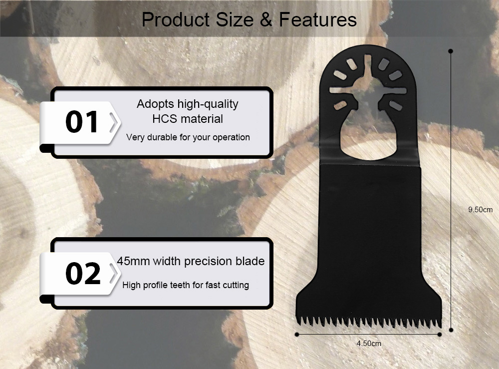 YYP - 453H 45mm Saw Blade Cutting Tool for Wood