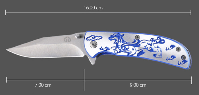 BAODANLI XY - 01 Multi-functional Liner Lock Knife with Pocket Clip
