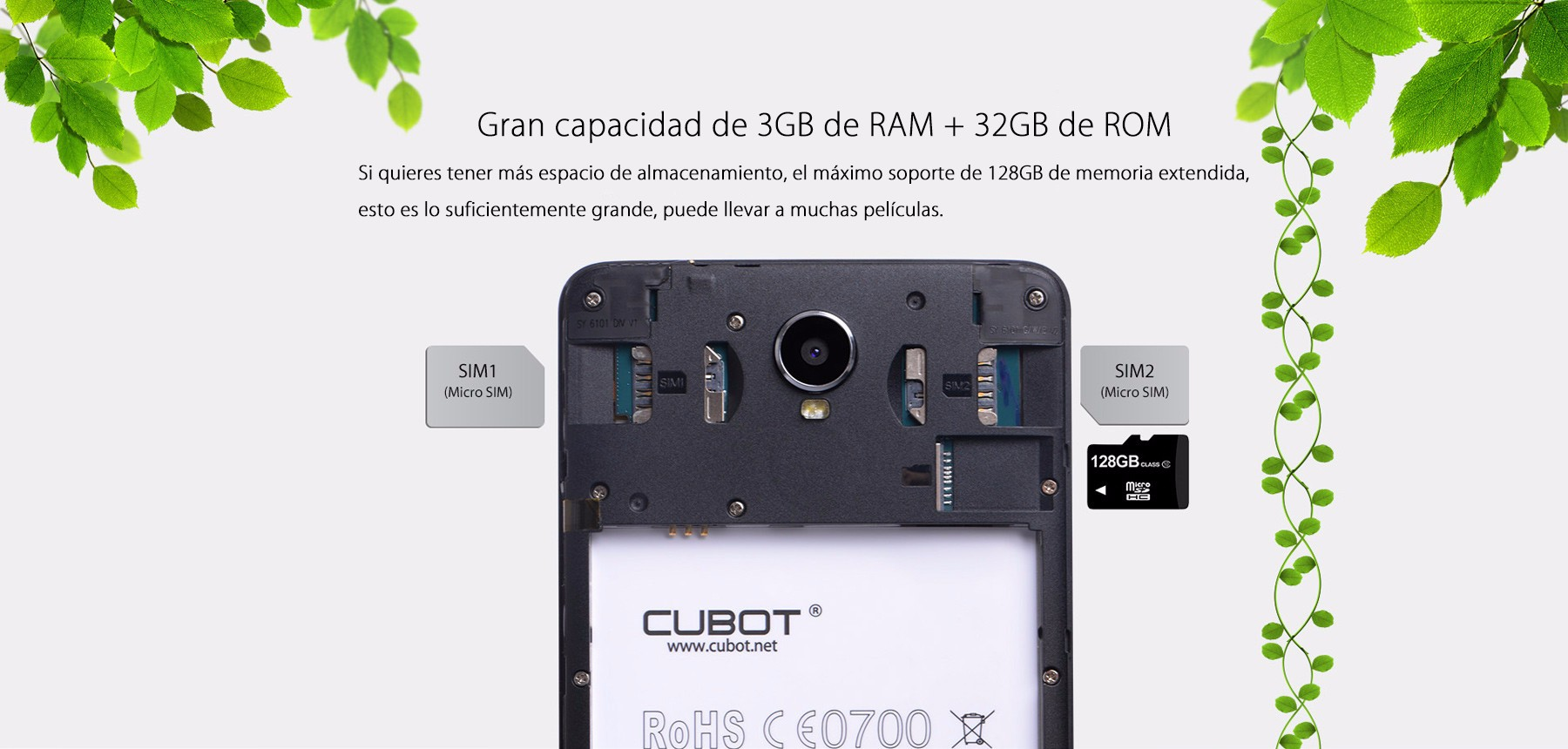 Cubot Max Phablet 4G