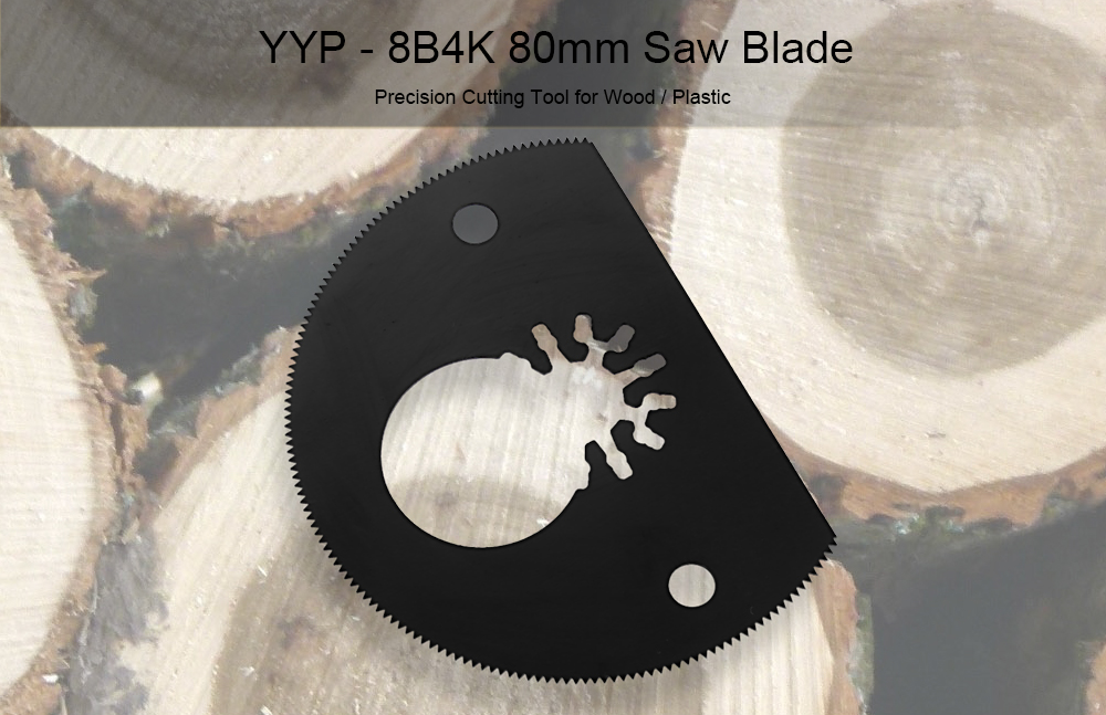YYP - 8B4K 80mm Circular Saw Blade Cutting Tool for Wood