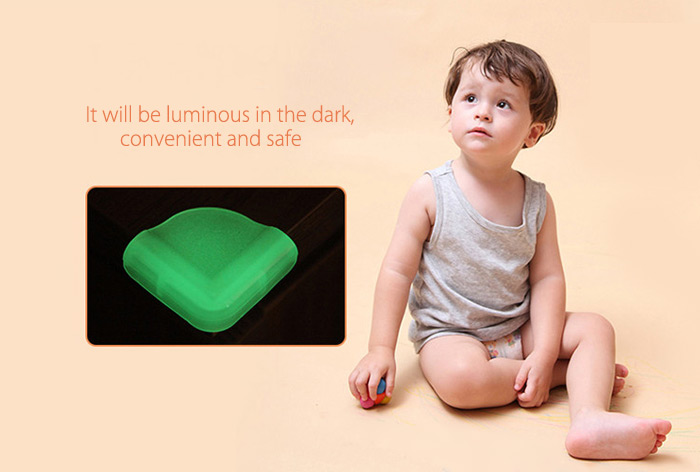 8PCS BabyMatee Baby Safety Table Desk Corner Guard Anti-collision Edge Protector Cushion