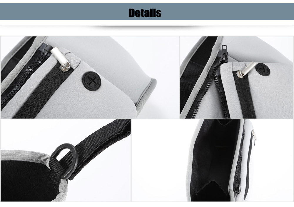 Chloroprene Rubber Baby Carriage Bag with Detachable Mobile Phone Pouch