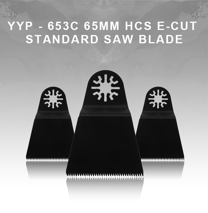 YYP - 653C 65mm HCS E-cut Standard Saw Blade for Wood Cutting