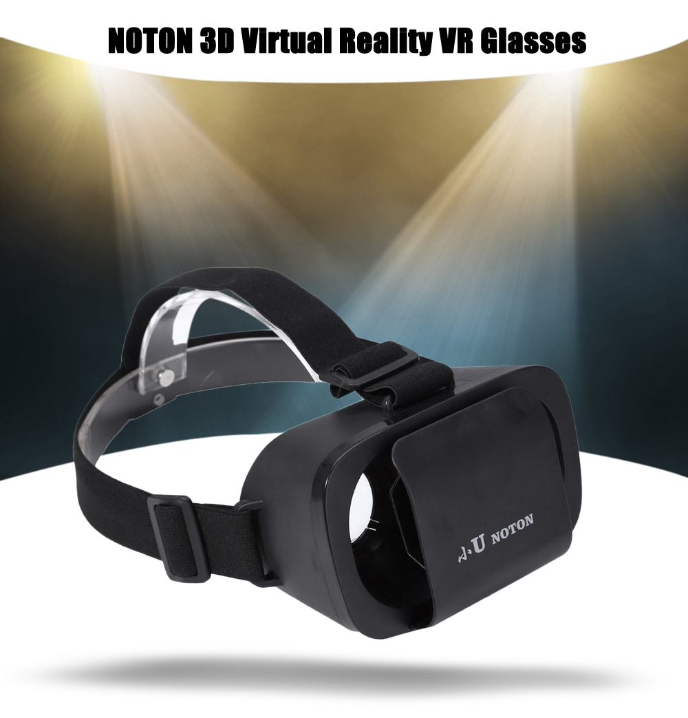 NOTON 3D Virtual Reality VR Glasses Adjustable Headband for 4.7 - 6 inch Mobile Phone
