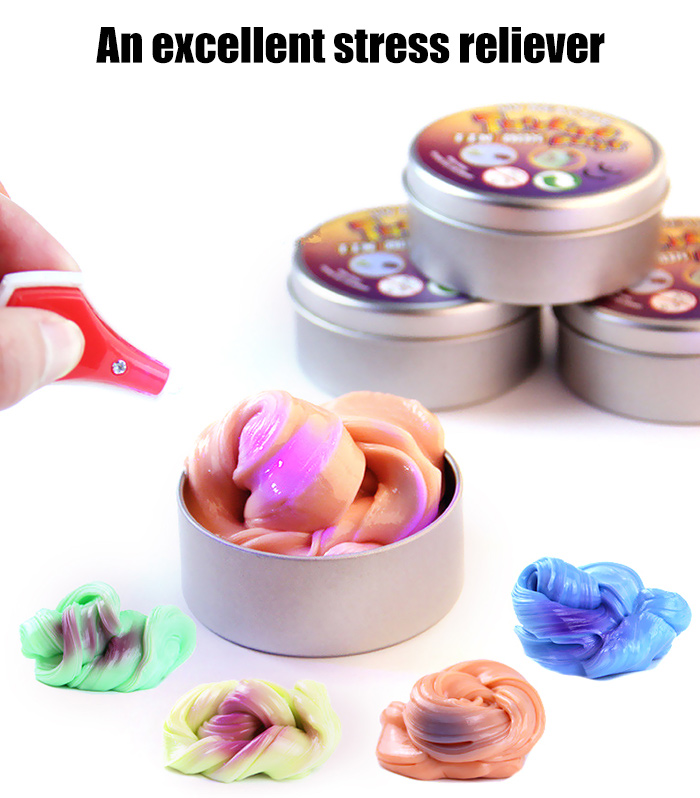 Special Plasticine Bouncing Toy Anti-stress Color Change Christmas Gift