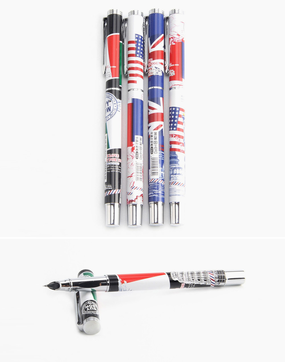 Hero 3165 20PCS Exquisite Fountain Pen Writing Stationery