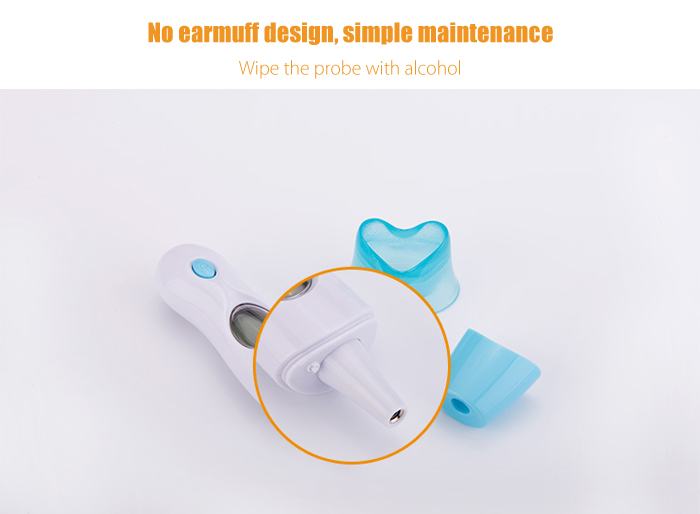 guucy EI01 Smart Ear Forehead Thermometer for Baby Elder People