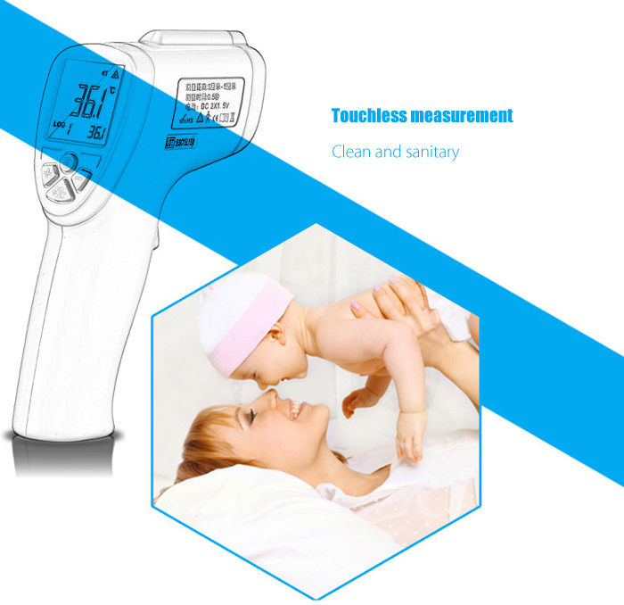 guucy FI04 Smart Forehead Thermometer for Baby Elder People
