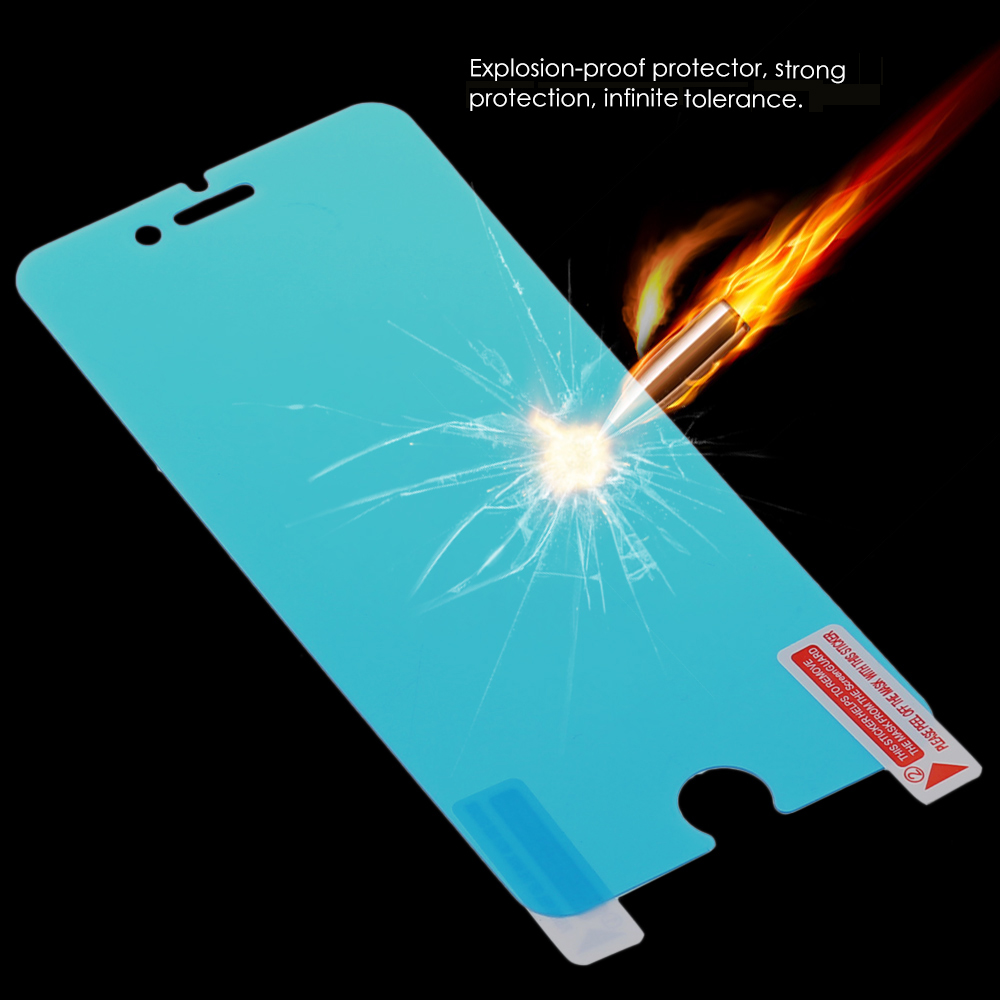 Tempered Glass Nano Screen Protector for iPhone 7 0.18mm Ultra-thin 9H Explosion-proof Anti-fingerprints Protective Film