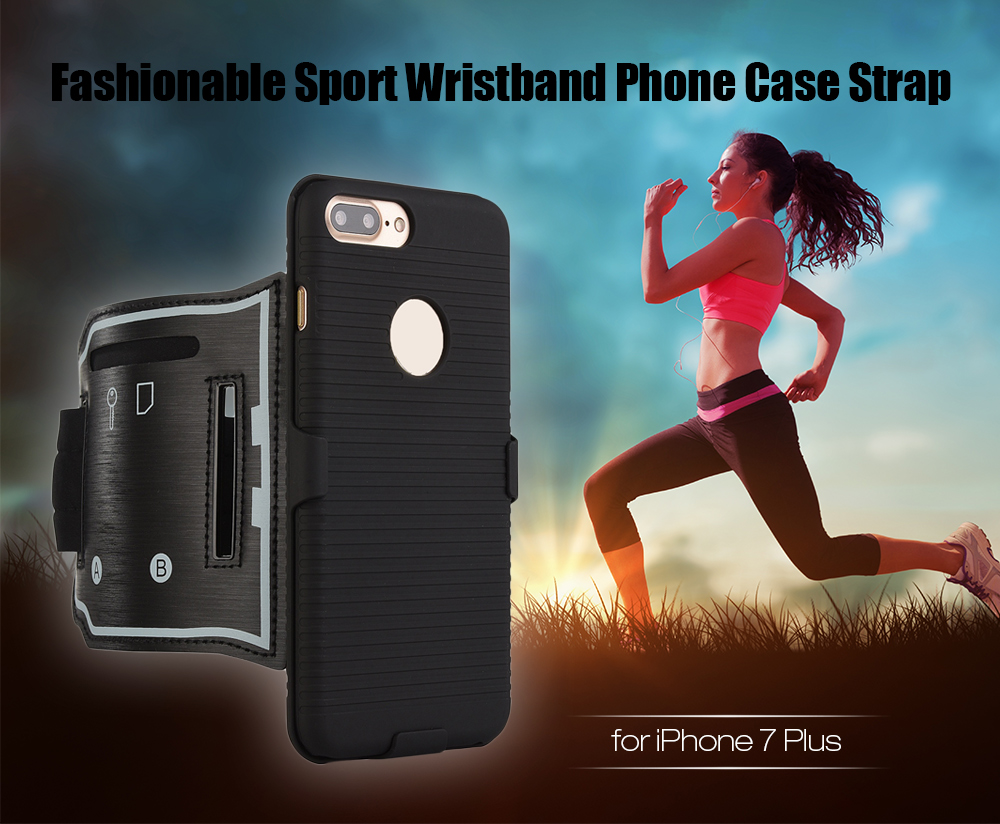 Fashionable Sport Armband Phone Case Strap for iPhone 7 Plus