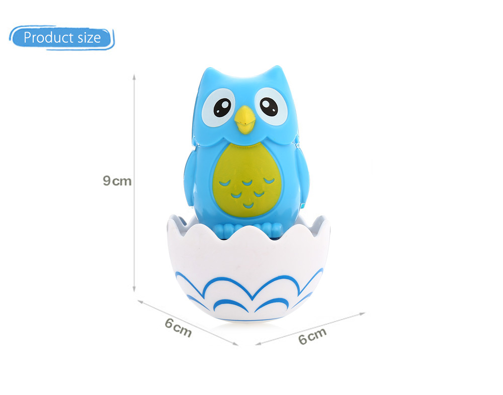 Roly-poly Baby Toddle Cartoon Animal Tumbler Educational Toy