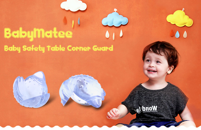 8PCS BabyMatee Baby Infant Cartoon Safety Anti-collision Table Desk Corner Guard Protector